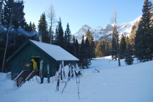 morning hut